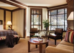 Four Seasons Hotel Whistler Sitting Area