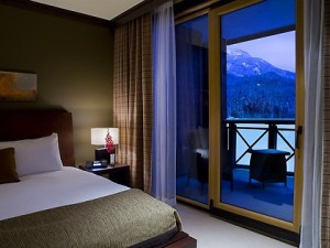 Nita Lake Lodge Whistler Bedroom