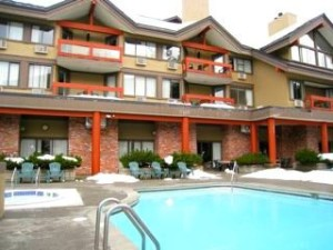 Whistler Village Inn Suite Pool