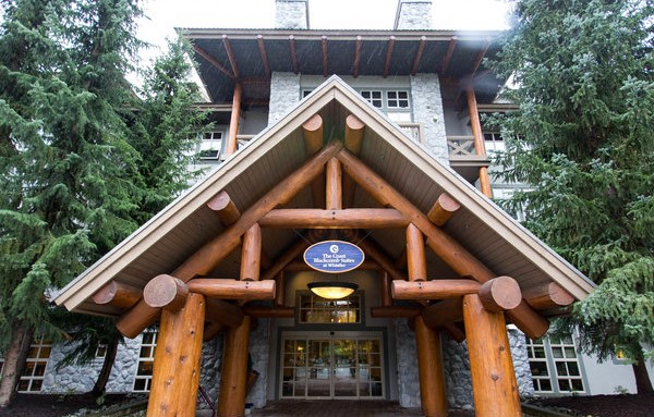 Coast Hotel Whistler Lobby Entrance